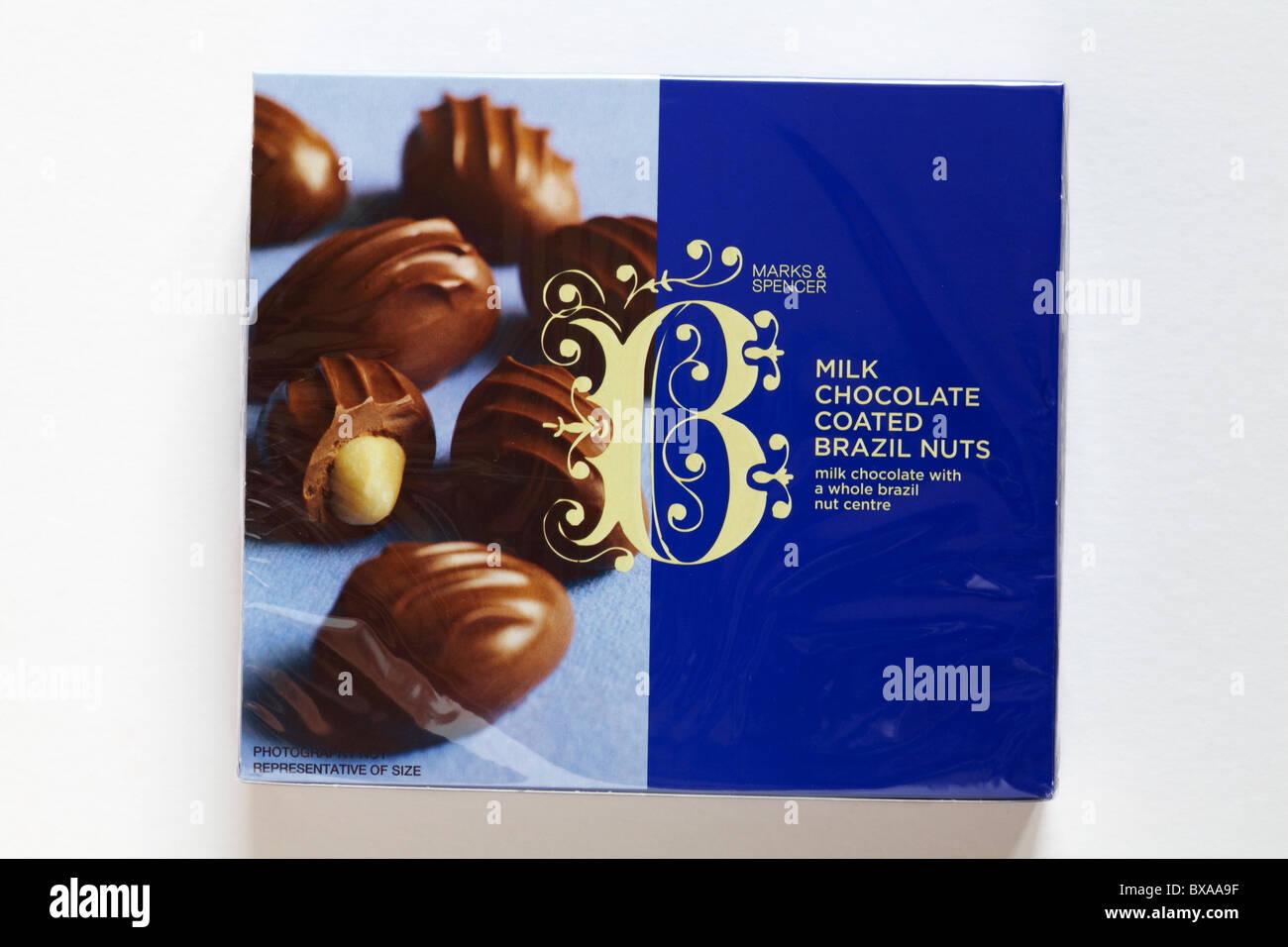 Milk Chocolate Coated Brazil Nuts