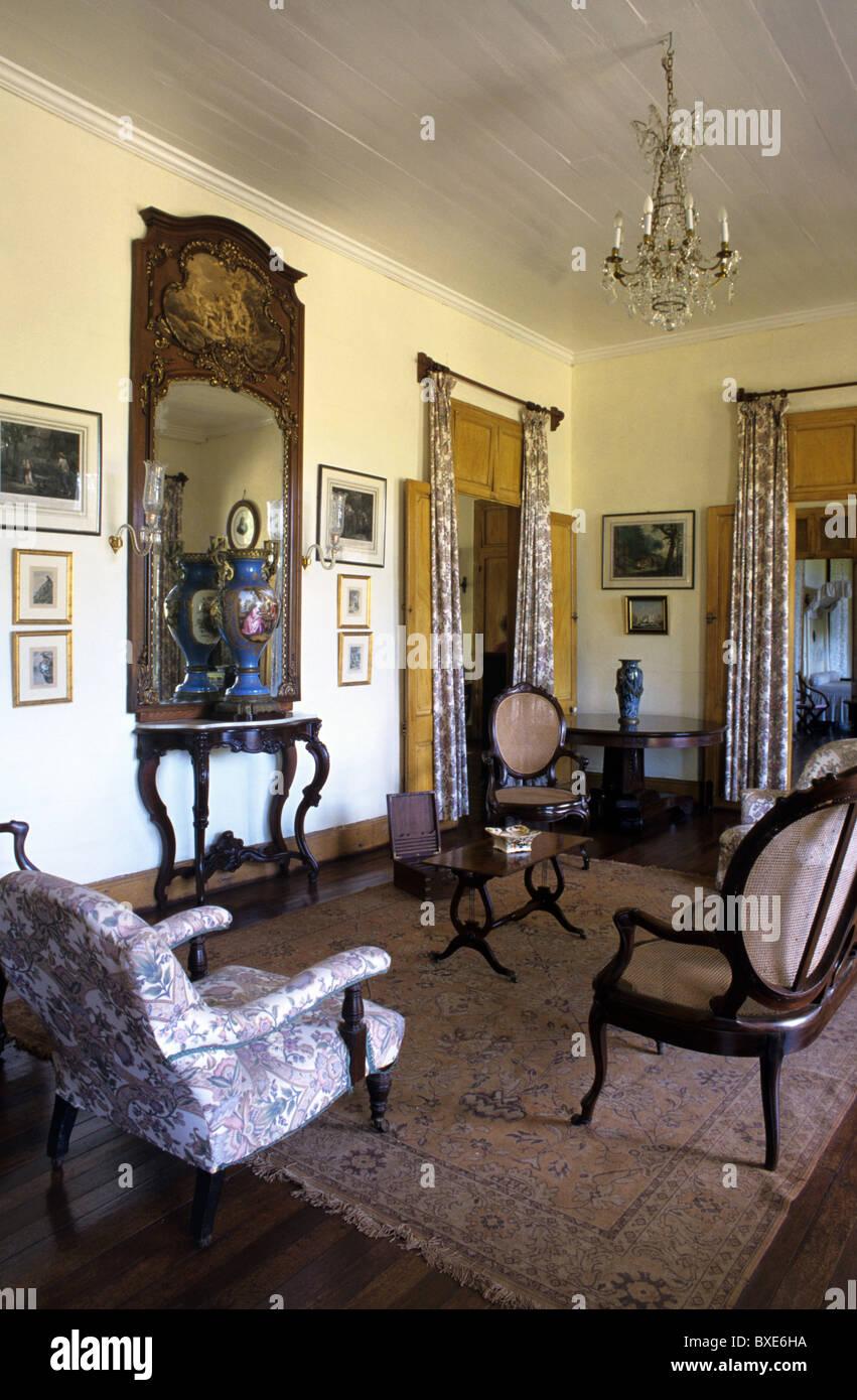 Living Room Or Salon Interior Of Eureka Built 1830