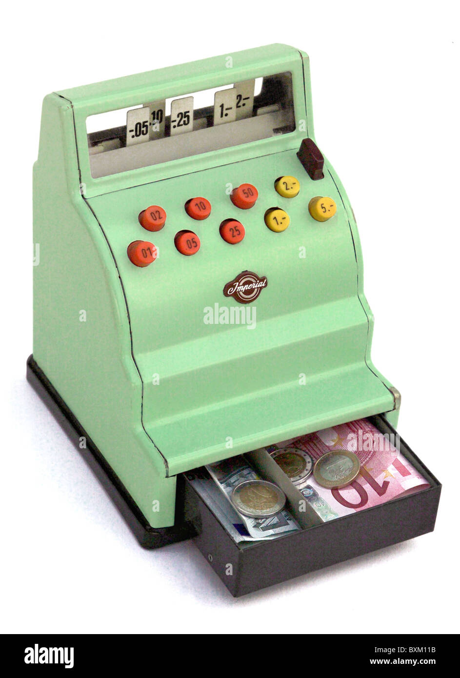 Toy Cash Register : Money finance full toy cash register germany circa