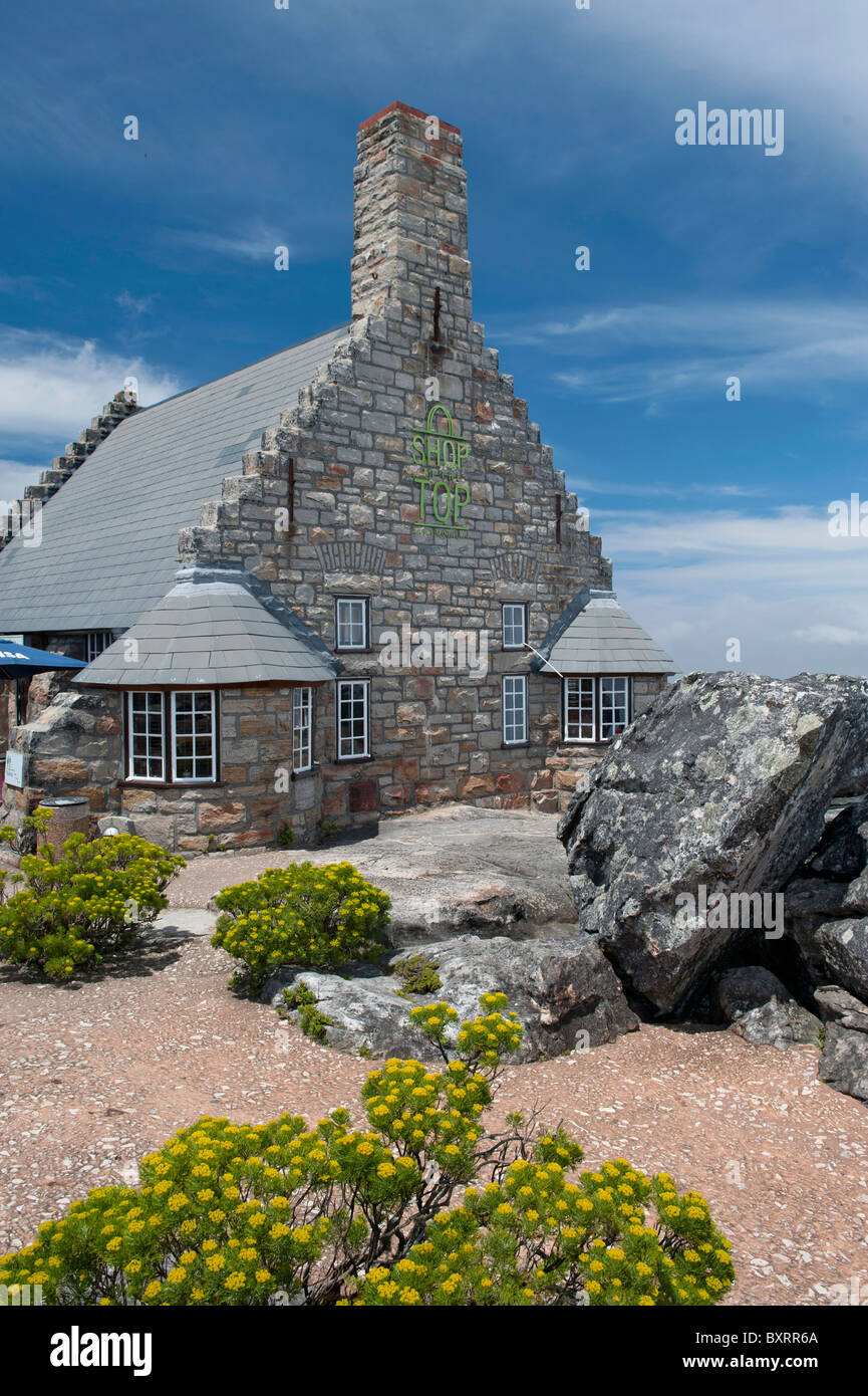 Restaurant And Gift Shop On The Summit Of Table Mountain