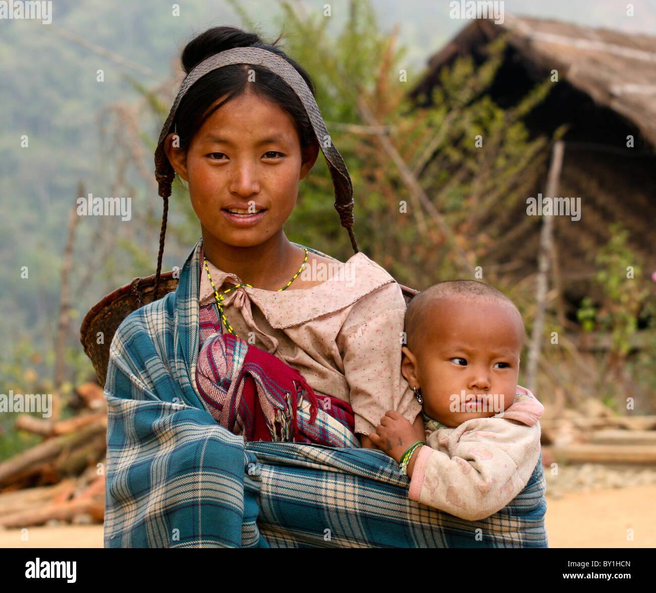 Nagaland People Girl