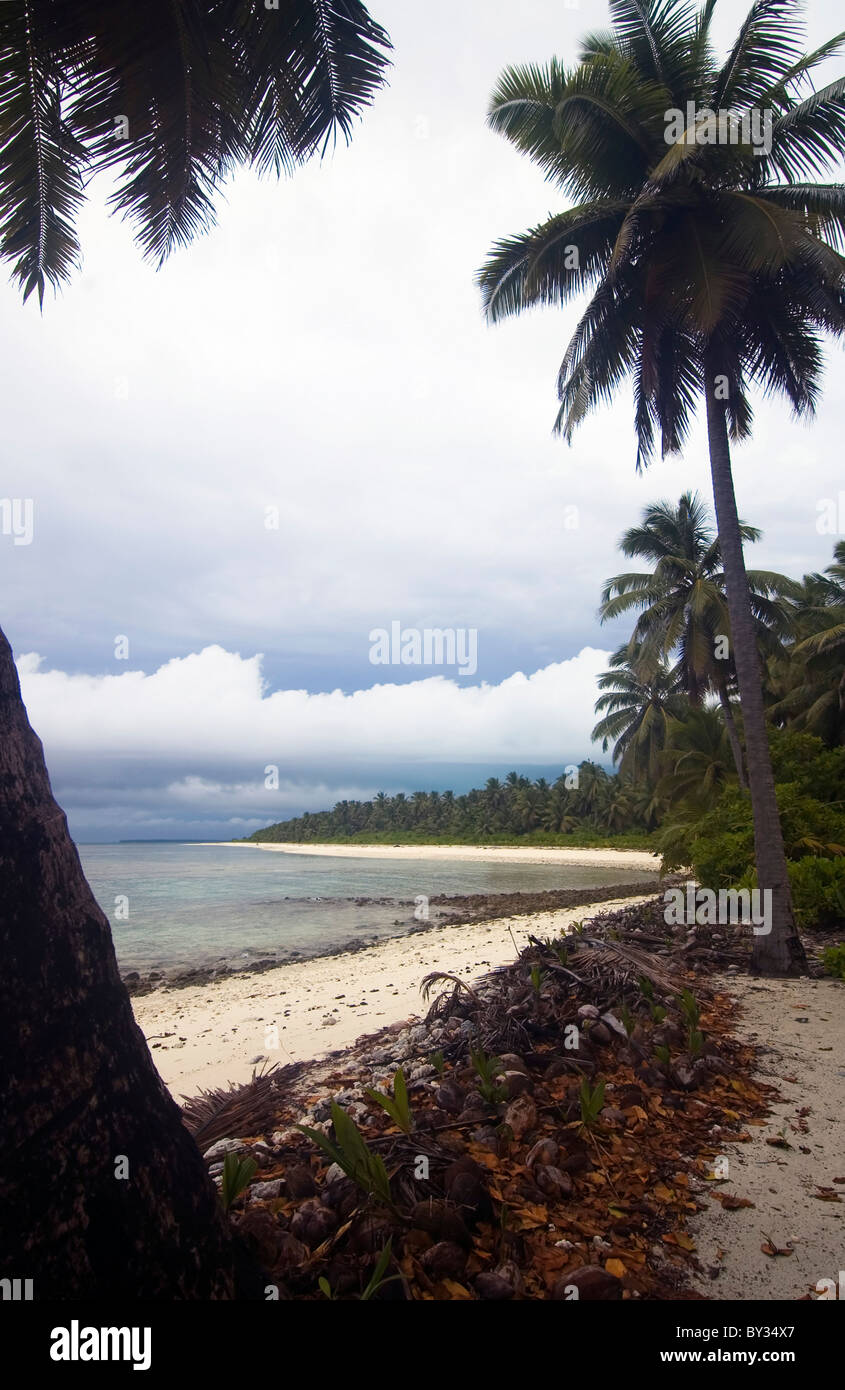 Monsoon Storms At Tranny Beach, West Island, Cocos Keeling