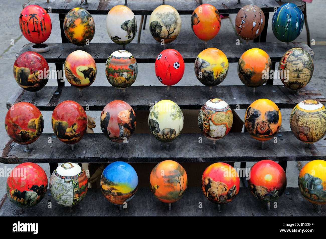 Painted Emu Eggs For Sale