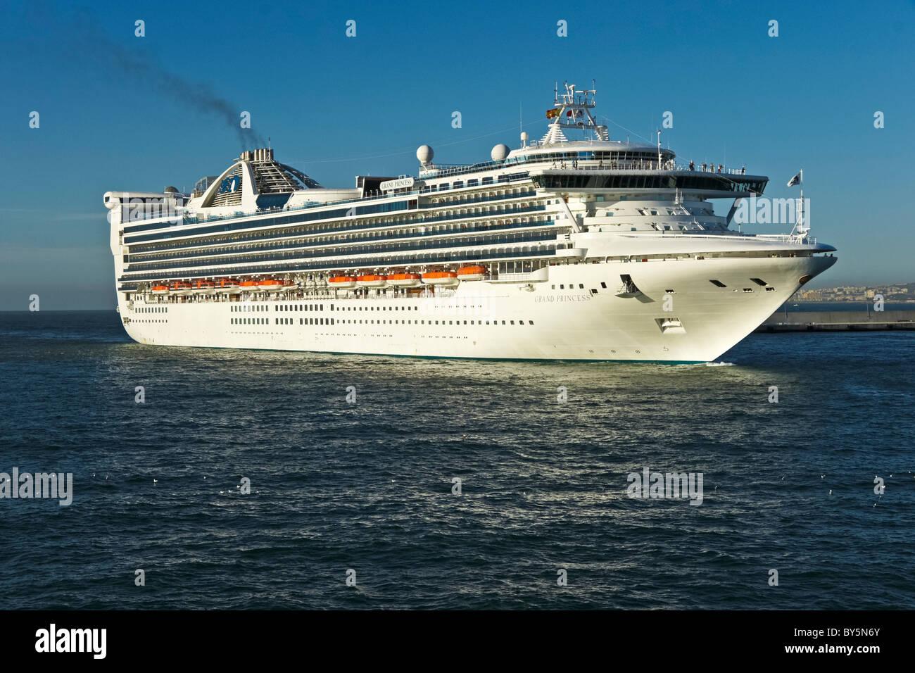Princess Cruises Grand Class Cruise Ship Grand Princess