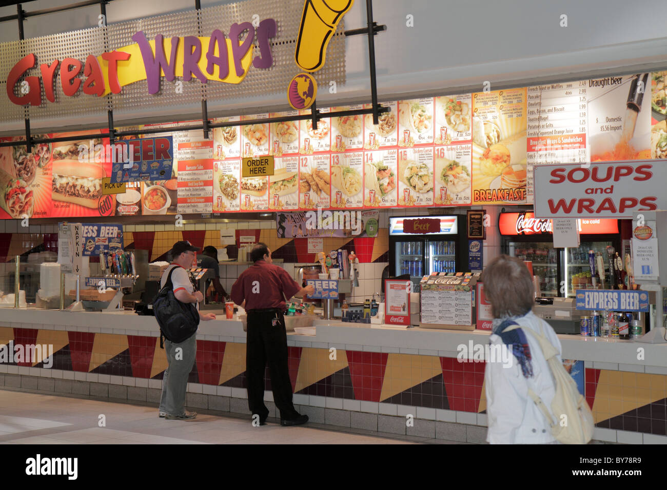 Cnn Food Court Restaurants