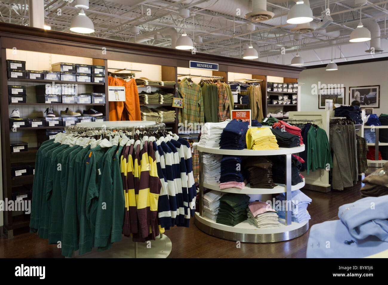 Polo ralph lauren store chicago premium outlets aurora for Houweling interieur outlet