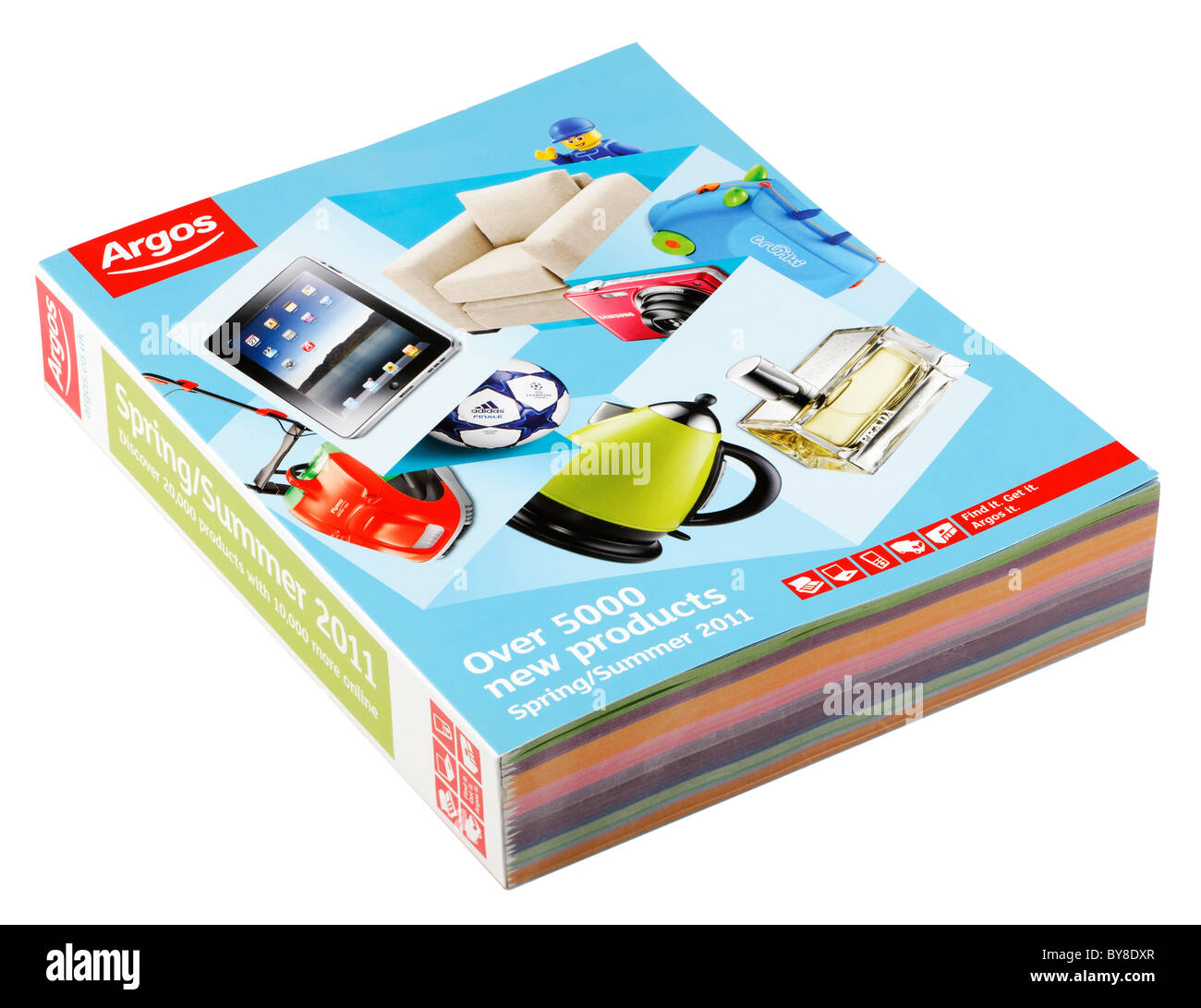 argos catalog for spring summer 2011 stock photo royalty free image 33992639 alamy. Black Bedroom Furniture Sets. Home Design Ideas
