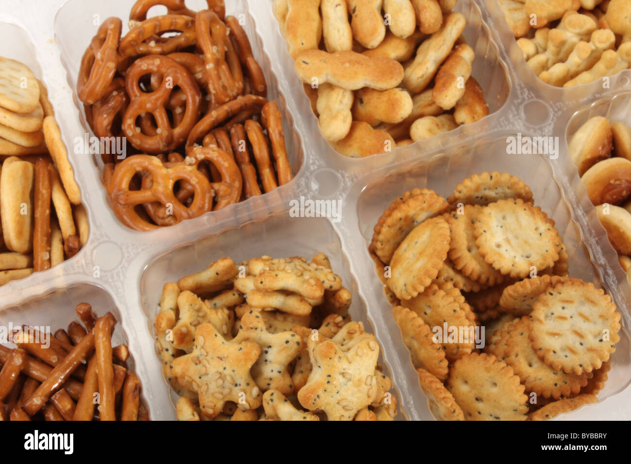savoury snacks and pretzels food perfect for parties as party food stock photo royalty free. Black Bedroom Furniture Sets. Home Design Ideas