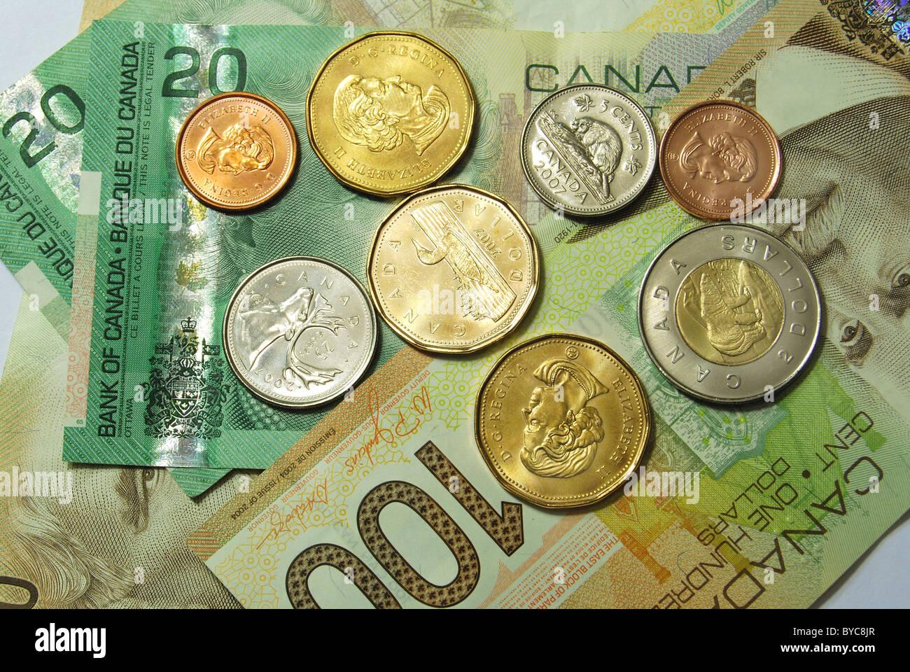 canadian paper money