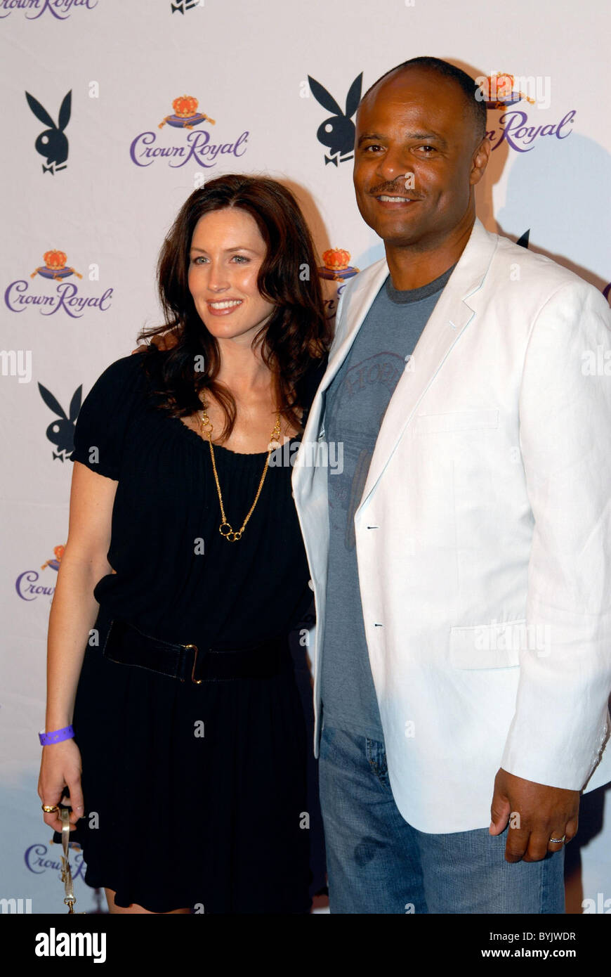Warren Moon >> Warren Moon and wife 133rd Kentucky Derby pre-party at the ...