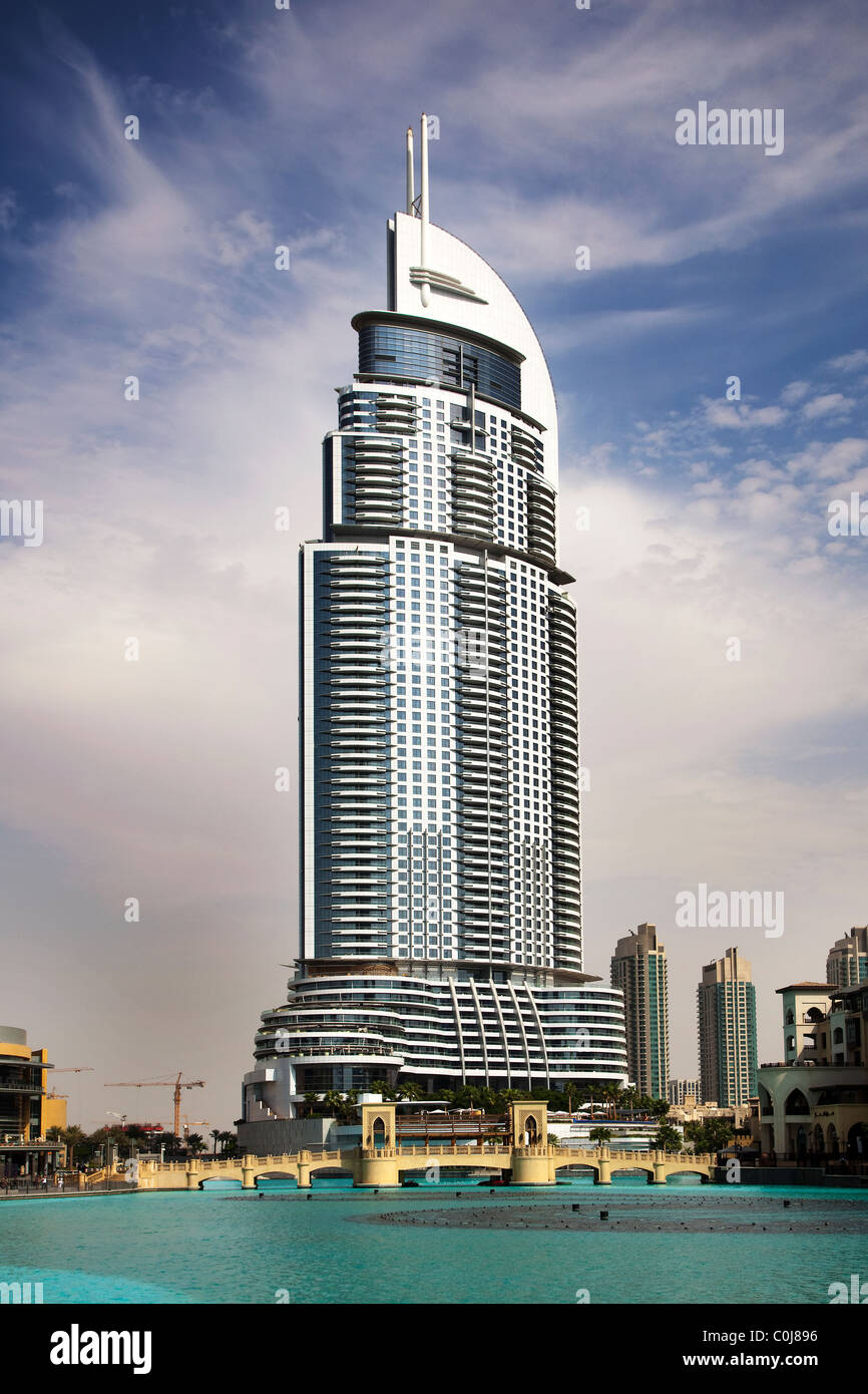 The address downtown dubai uae the 11th tallest building for Address hotel dubai