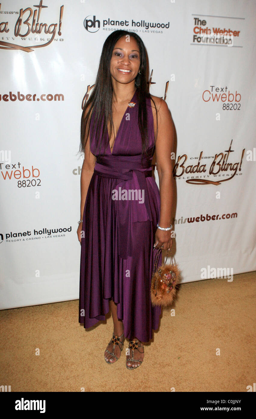 Dr Yamma Brown , Chris Webber Bada Bling Gala - Arrivals ...