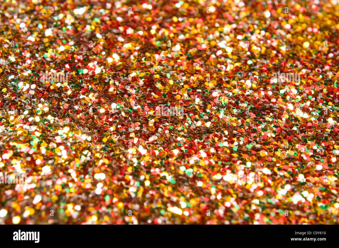 colorful confetti Stock Foto