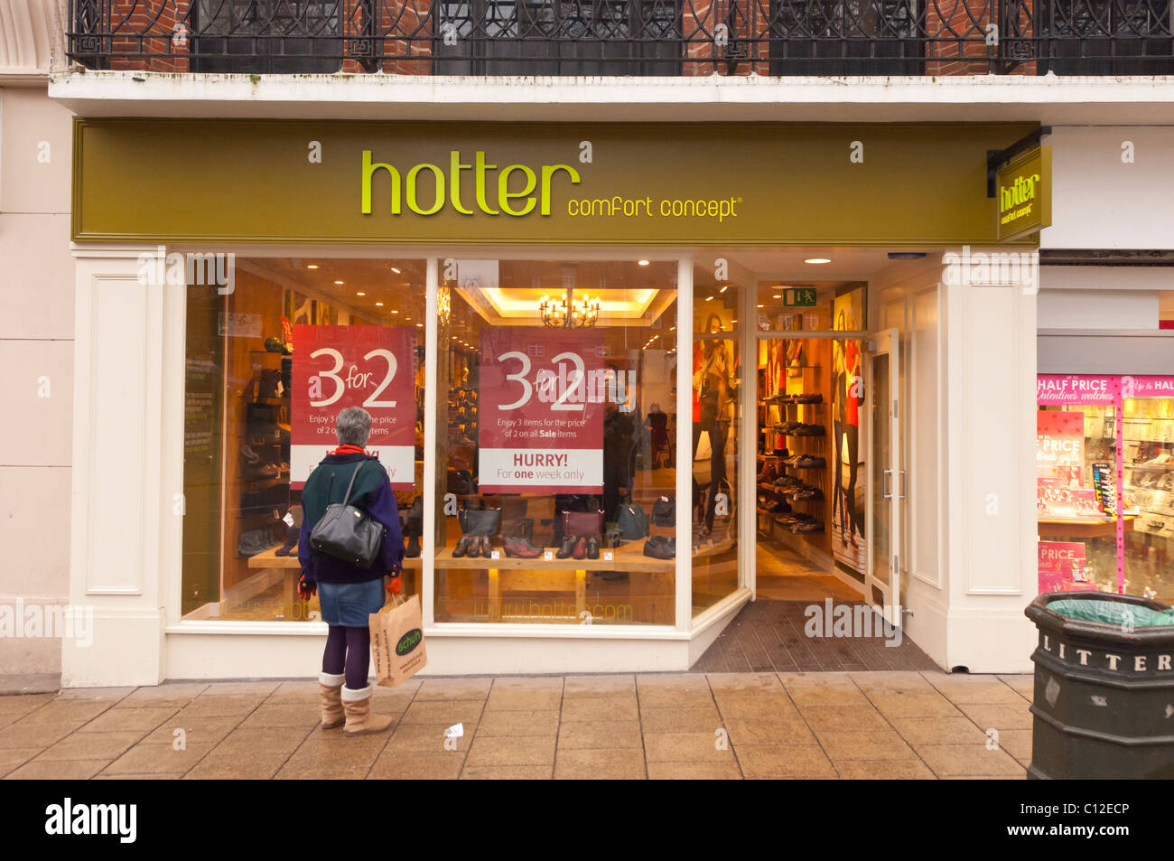 Hotter Shoes Shops In London