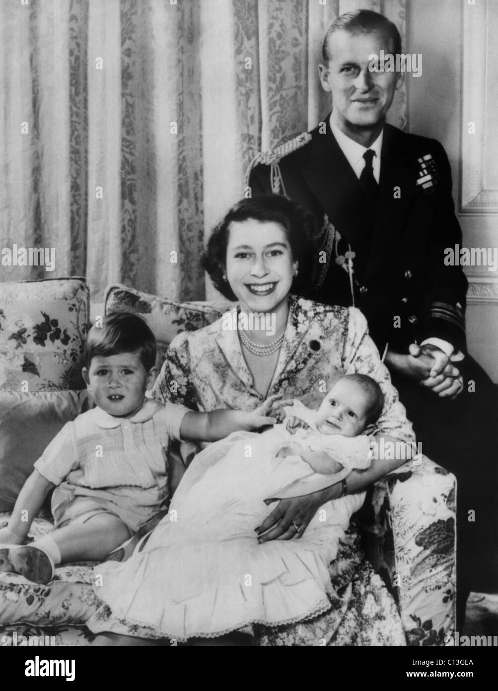 British Royal Family From Left Future Prince Of Wales