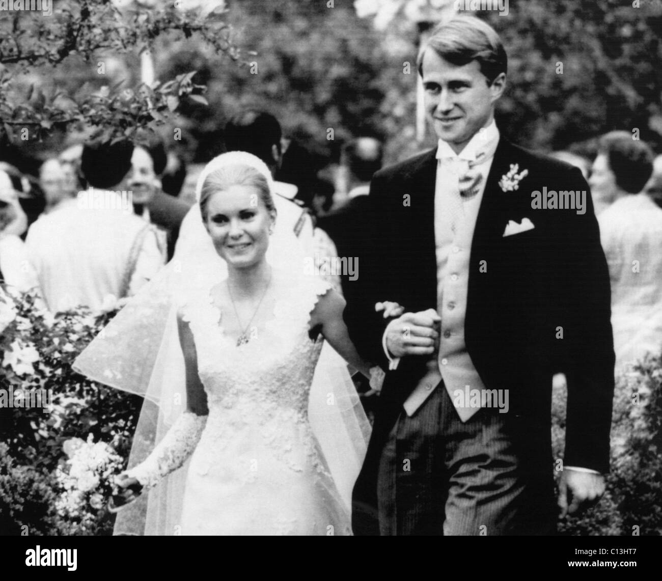 Tricia Nixon Wedding Gown: Nixon Presidency. Tricia Nixon And Edward Cox, Shortly