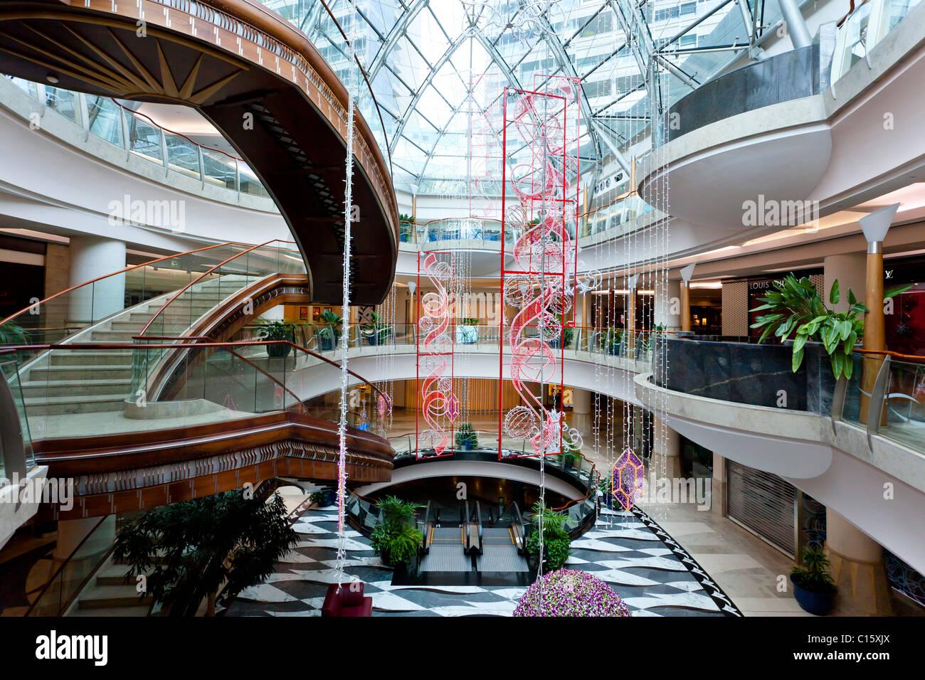 a burjuman area shopping mall in bur dubai dubai uae stock photo royalty free image 35166066. Black Bedroom Furniture Sets. Home Design Ideas