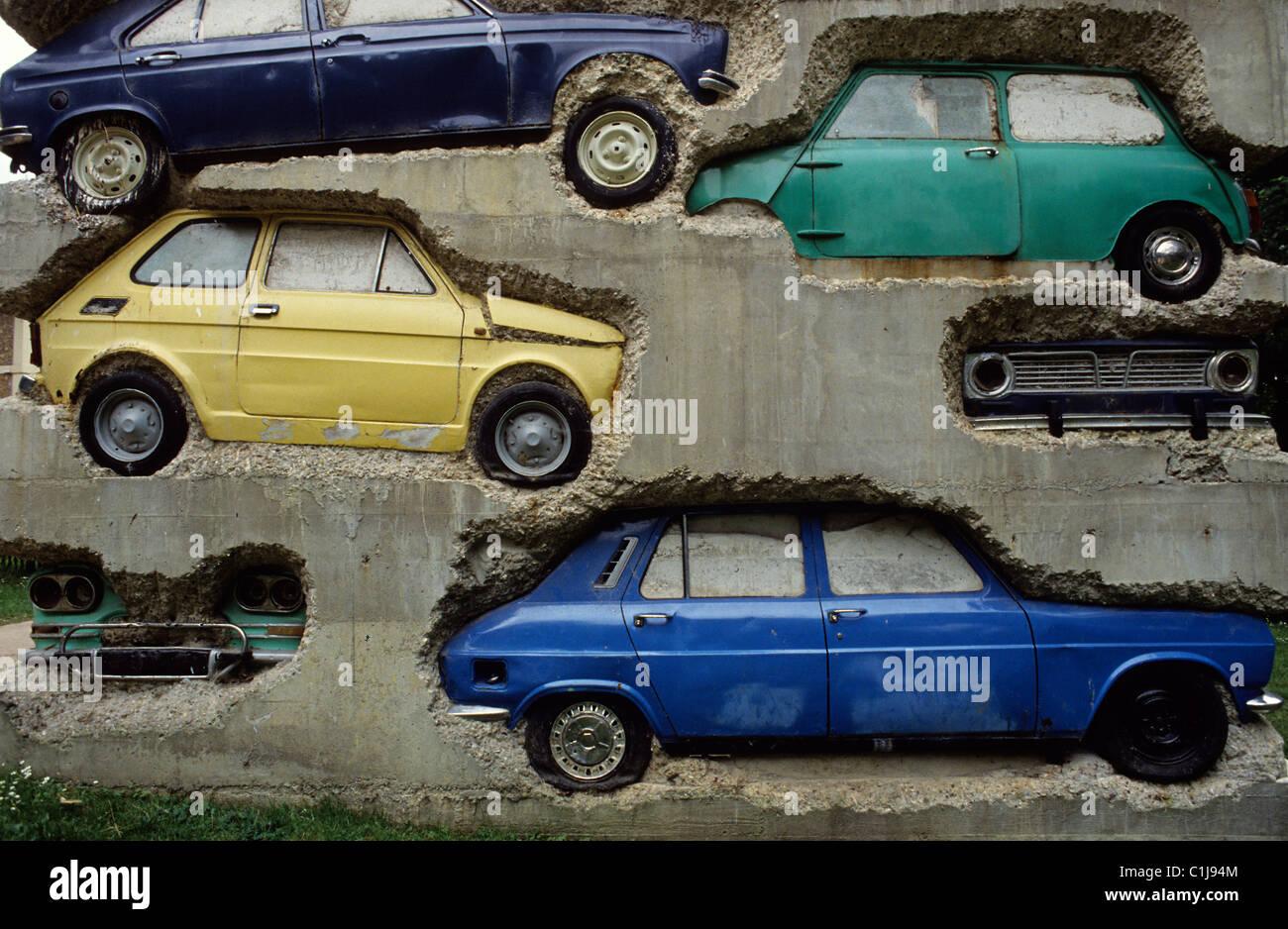 France yvelines jouy en josas long term parking for Garage jouy en josas