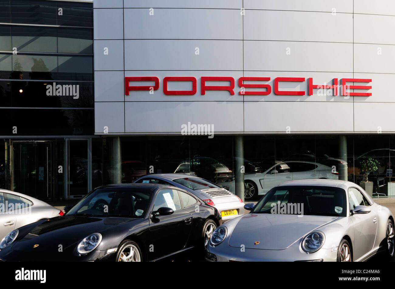 Lancaster Porsche Car Dealership Harston Cambridgeshire
