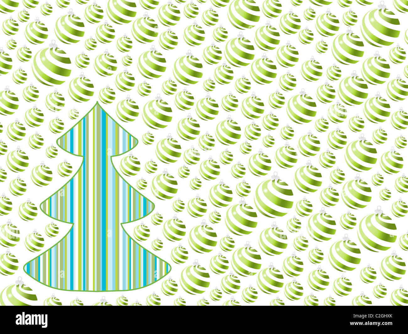 christmas sphere backgrounds. holiday Stock Foto