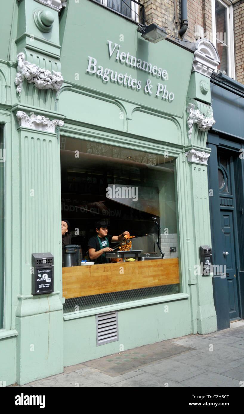 Stock Photo - Vietnamese restaurant, London, UK
