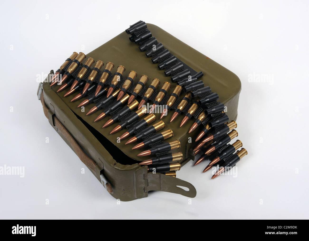 Russian Mm Belt Fed Machine Gun Ammunition C M Dk