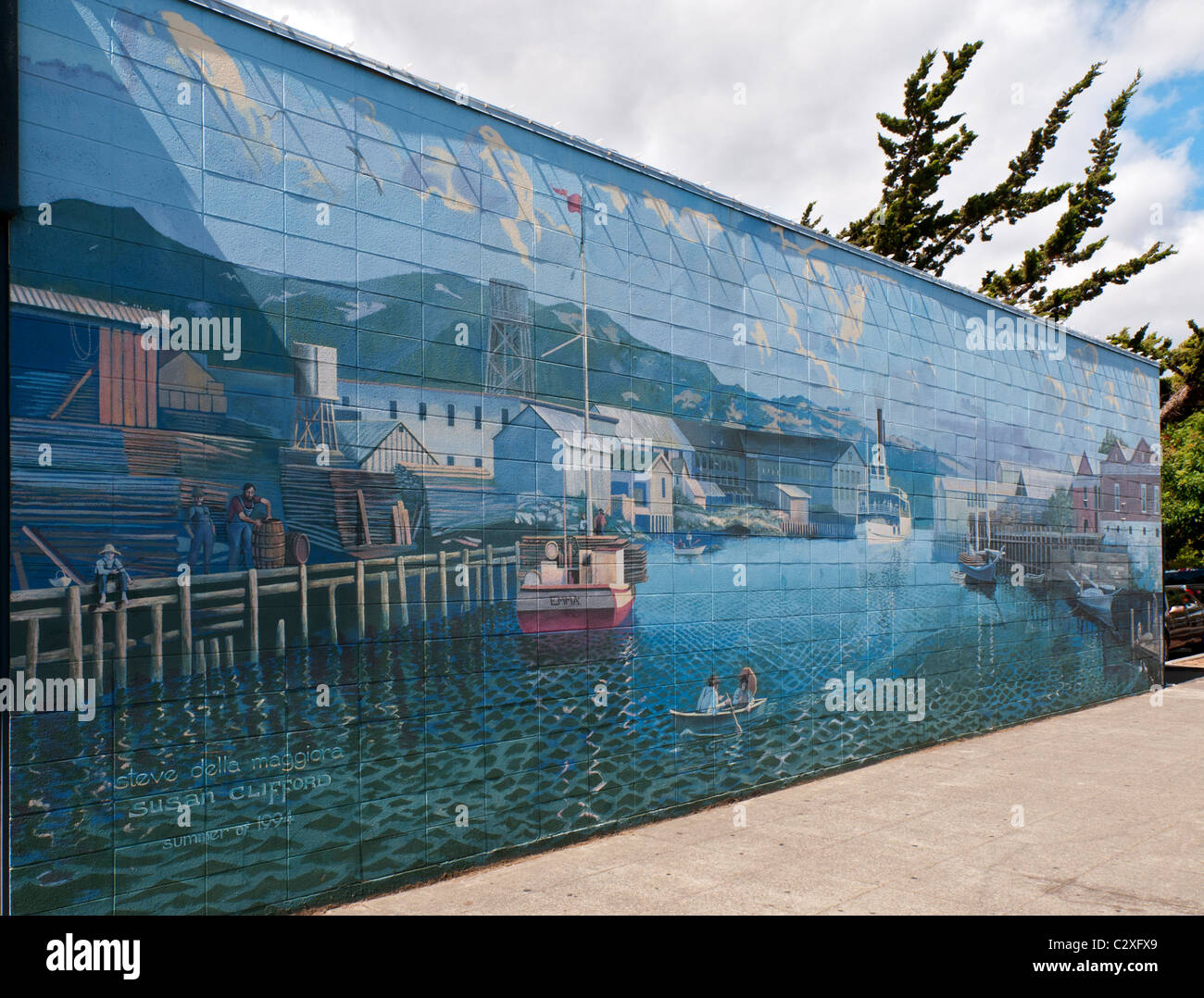 California napa downtown mural project mural 1 the for California mural