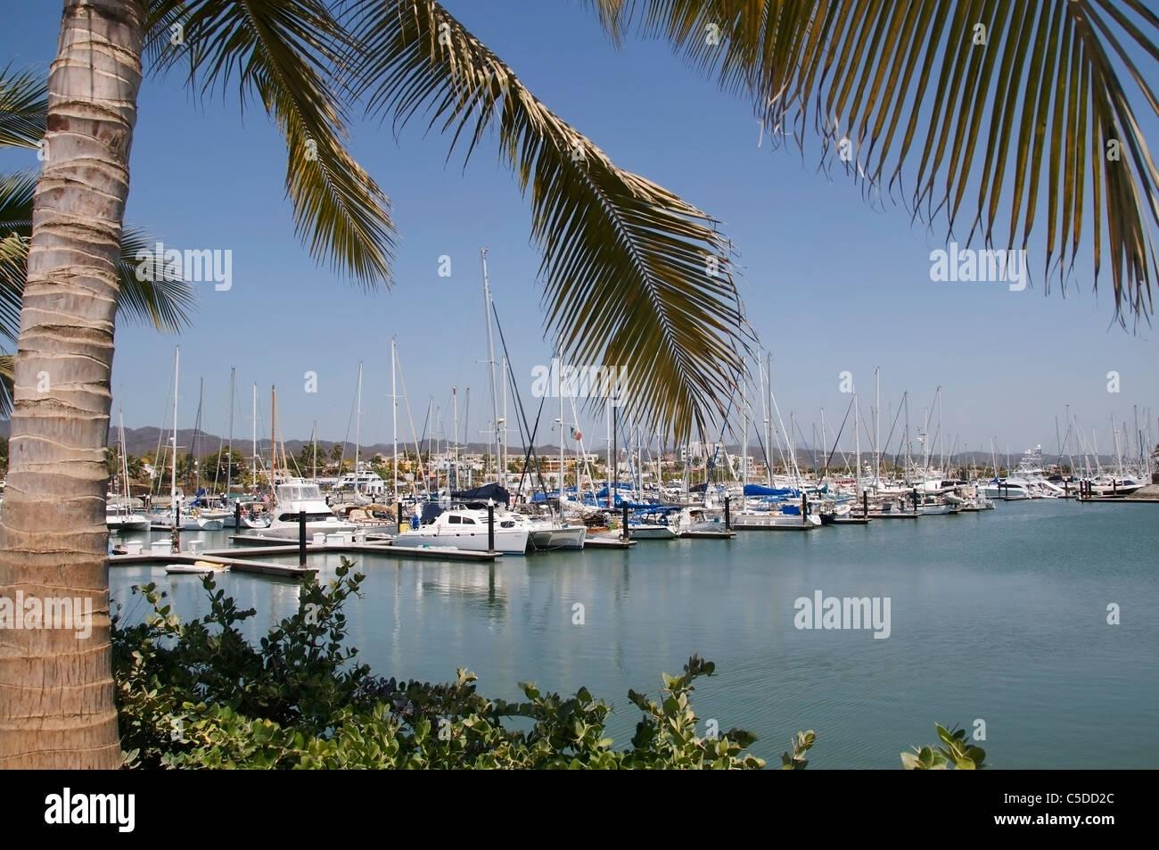 View Of The Marina Riviera Nayarit In La Cruz De