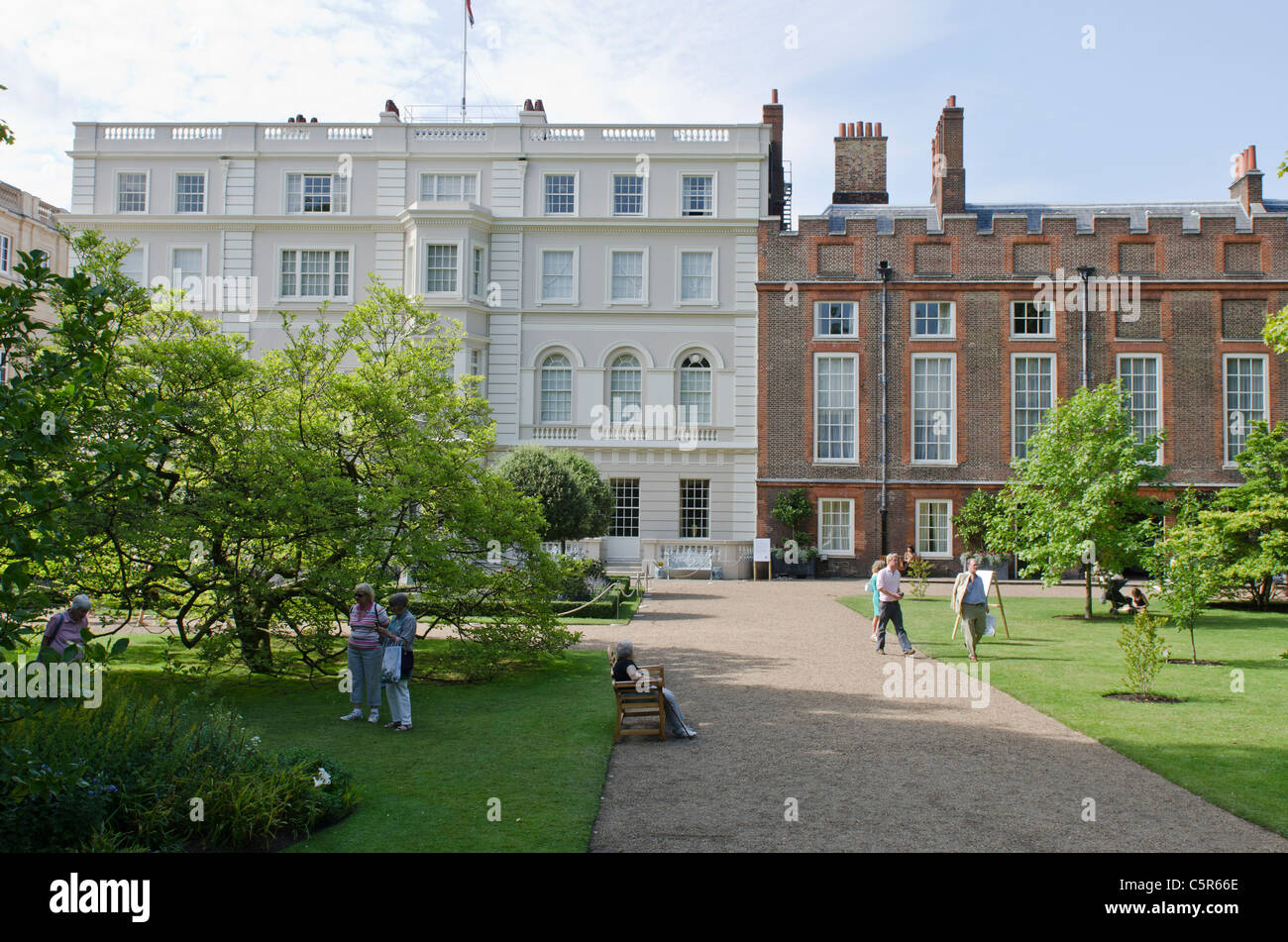 Clarence house and st james 39 s palace garden london uk for House and home uk