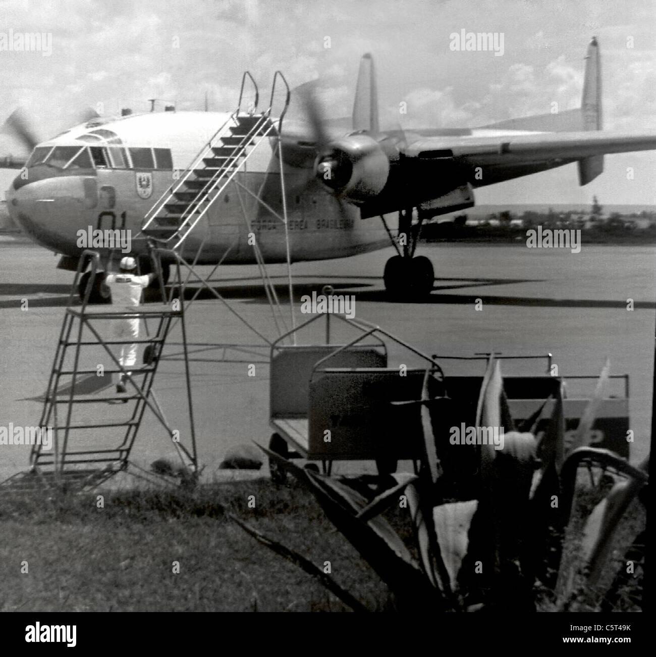 Brasilia's Airport, circa 1969 Stock Photo