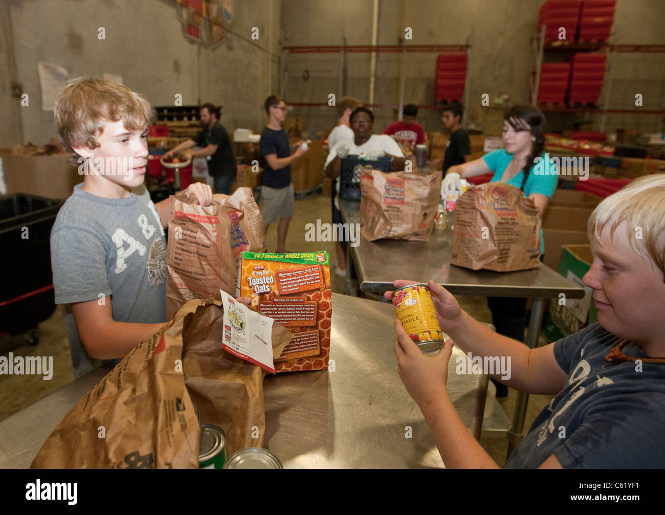 San Antonio Food Bank Warehouse