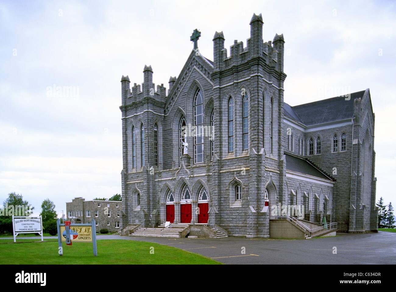 St Bernard Nova Scotia Canada Saint Bernard Church