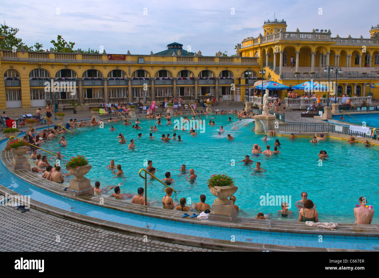 Szechenyi f rd the famous spa in city park central for A list salon budapest