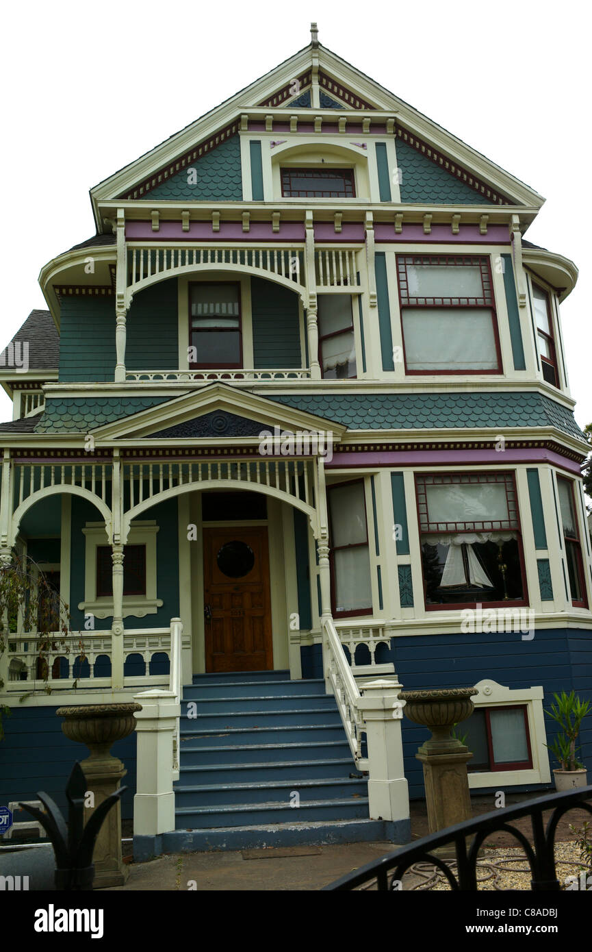 Victorian Home Architecture 19th Century Alameda Gables
