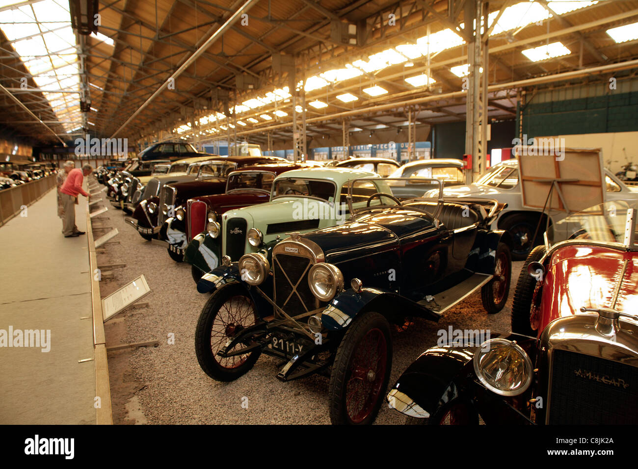 reims champagne automobile car museum in reims france mus e stock photo royalty free image. Black Bedroom Furniture Sets. Home Design Ideas