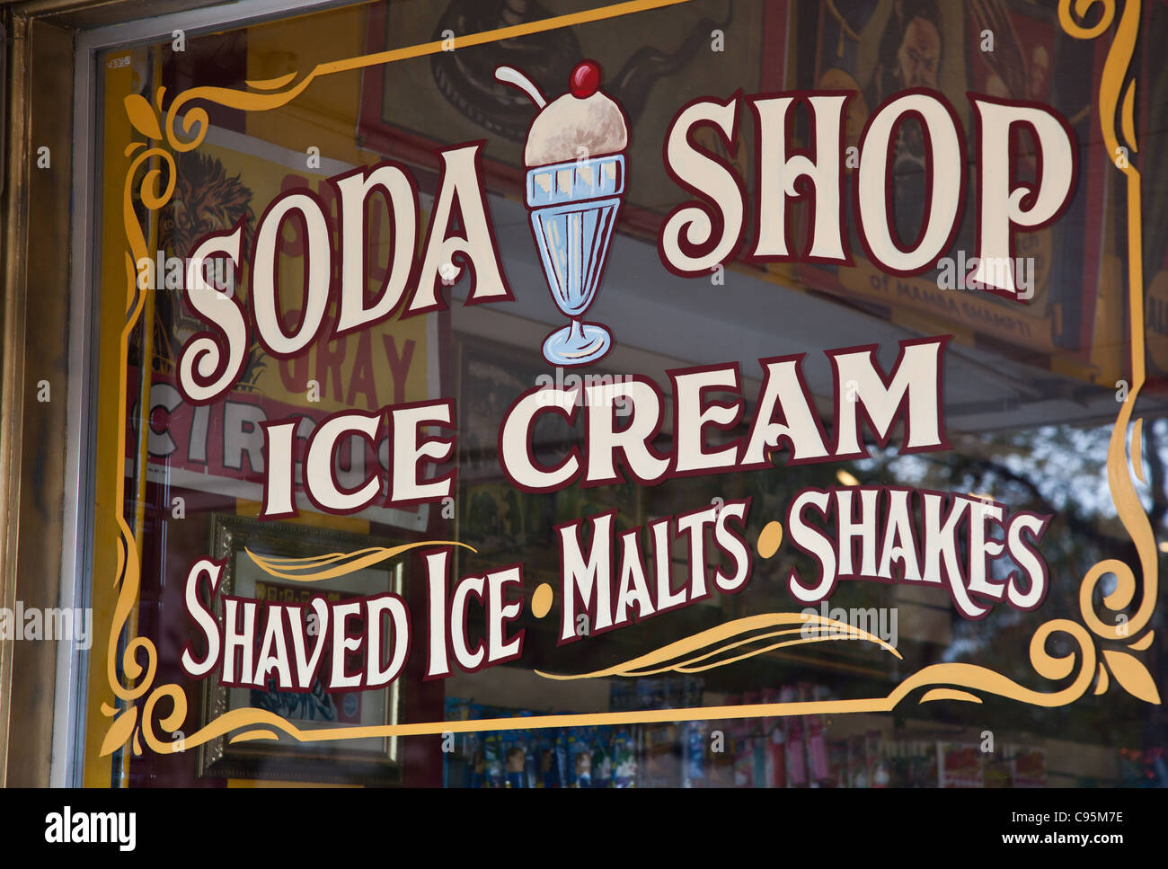 Old Fashion Candy Picture Signs 41