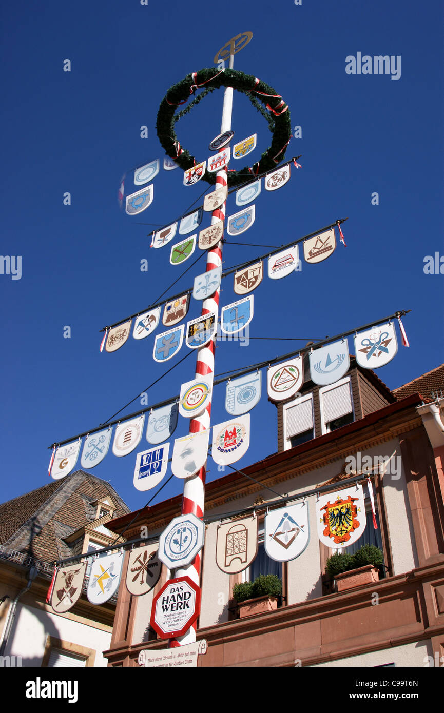 zunftbaum-pole-showing-the-guild-signs-o
