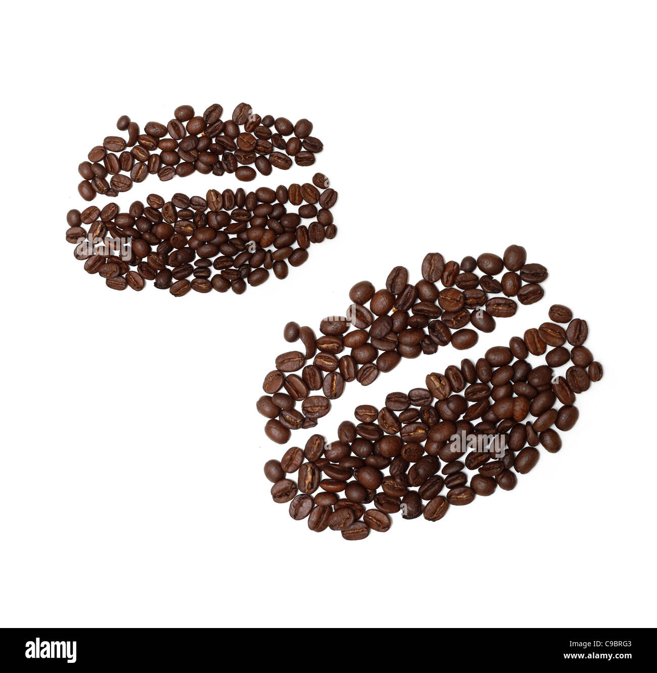 Coffee bean drawing stock photo royalty free image for How to draw a coffee bean