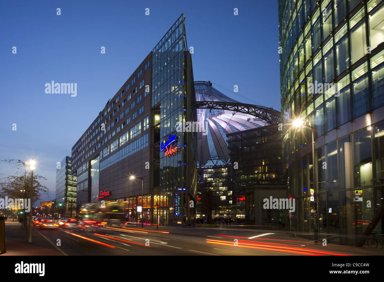 sony center potsdamer platz berlin film museum stock photo royalty free image 40225609 alamy. Black Bedroom Furniture Sets. Home Design Ideas