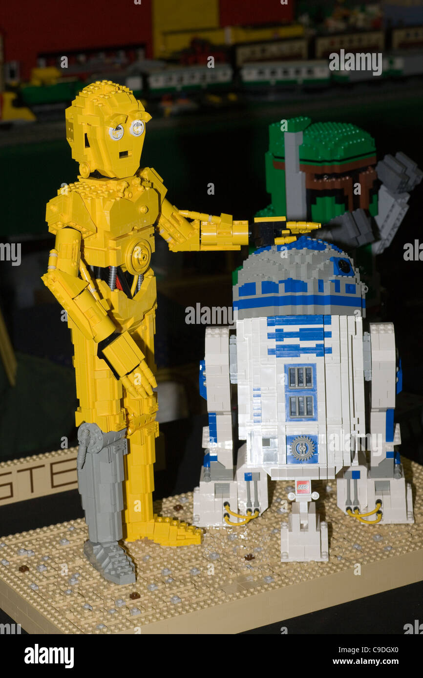 R2d2 And C3po Lego Star Wars characters R...