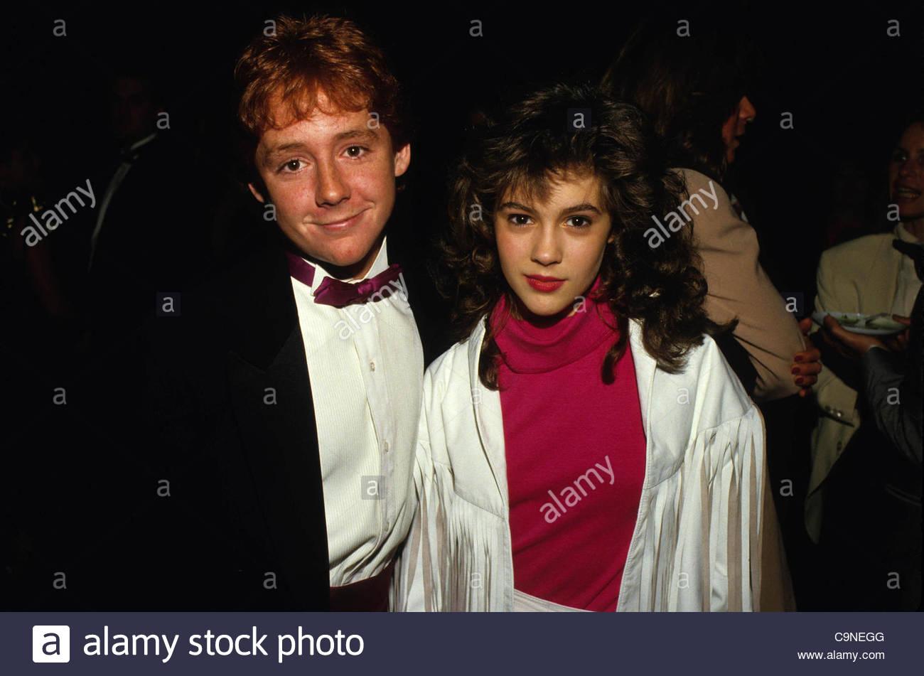 Jan. 28, 1987 - Hollywood, California, U.S. - F3745.ALYSSA ...