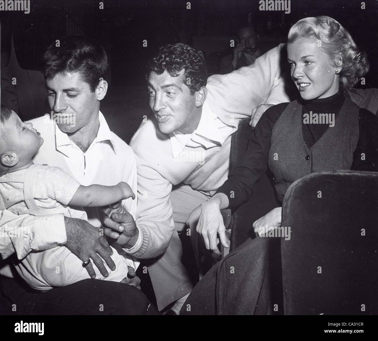 Jerry Carney And Sons Inc Home: DEAN MARTIN With Wife Jeanne Biegger Their Son And JERRY