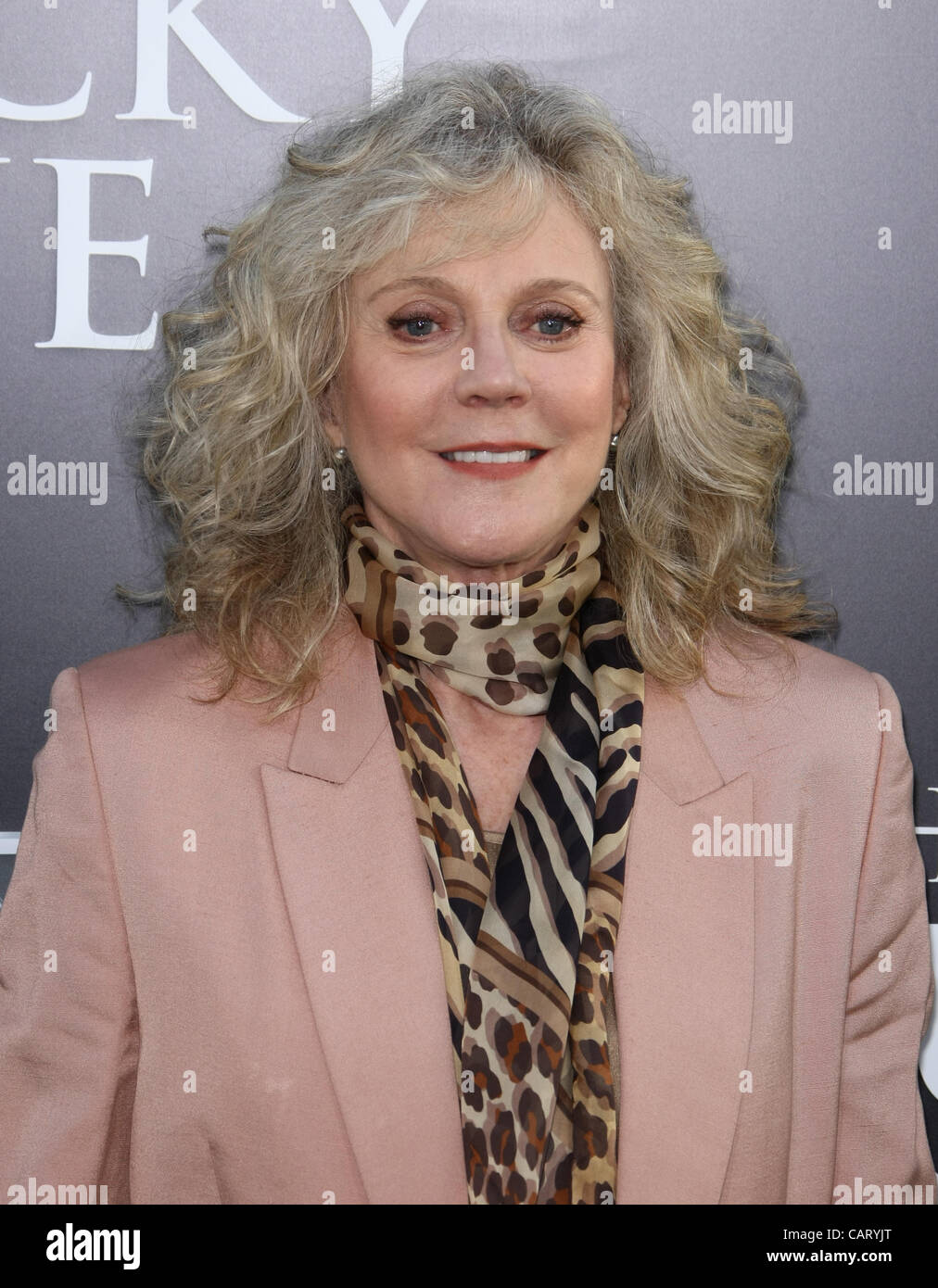 Blythe Danner The Lucky One Los Angeles Premiere