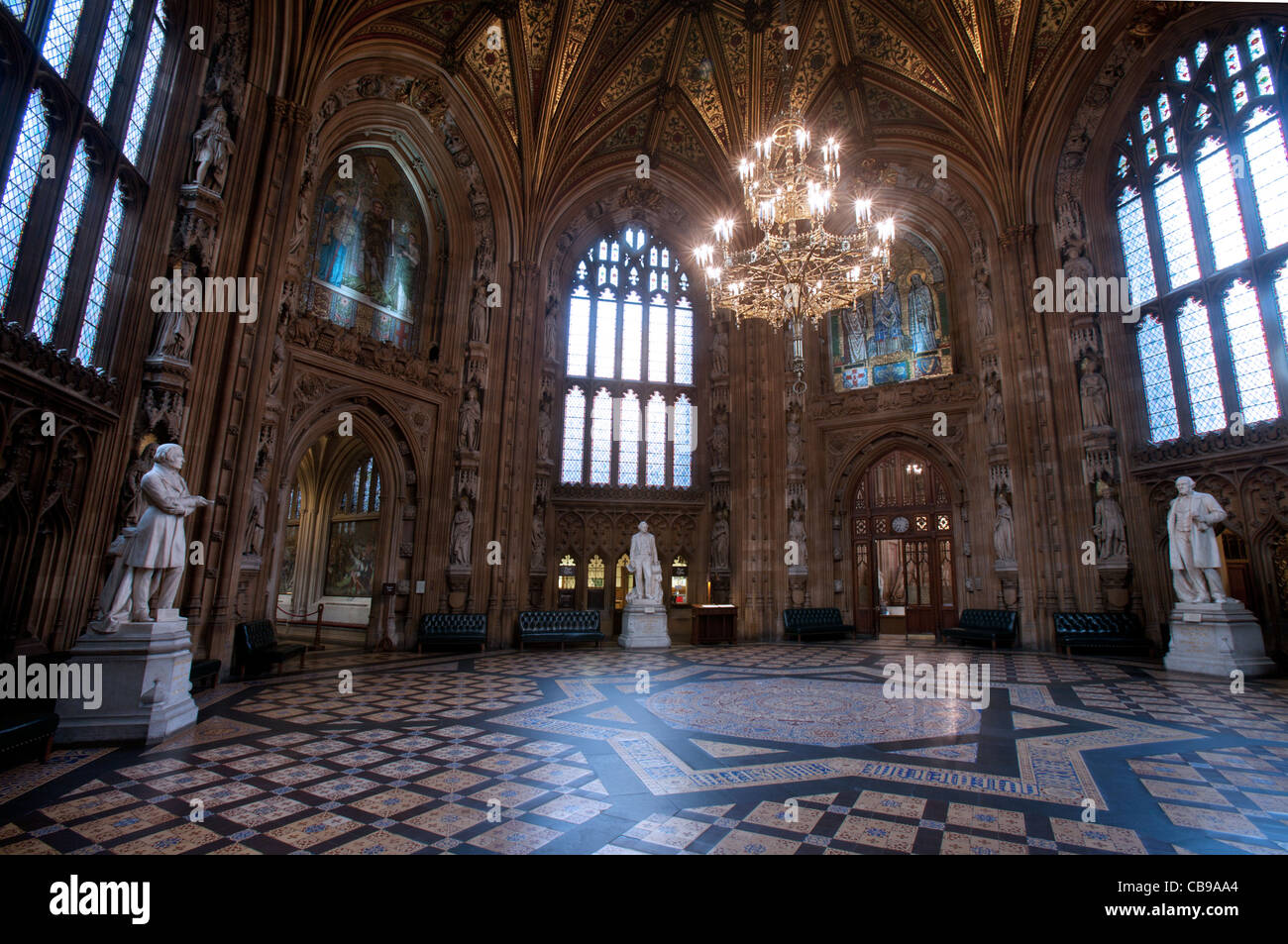 House Of Lords Amp House Of Commons Lobby The Parliament