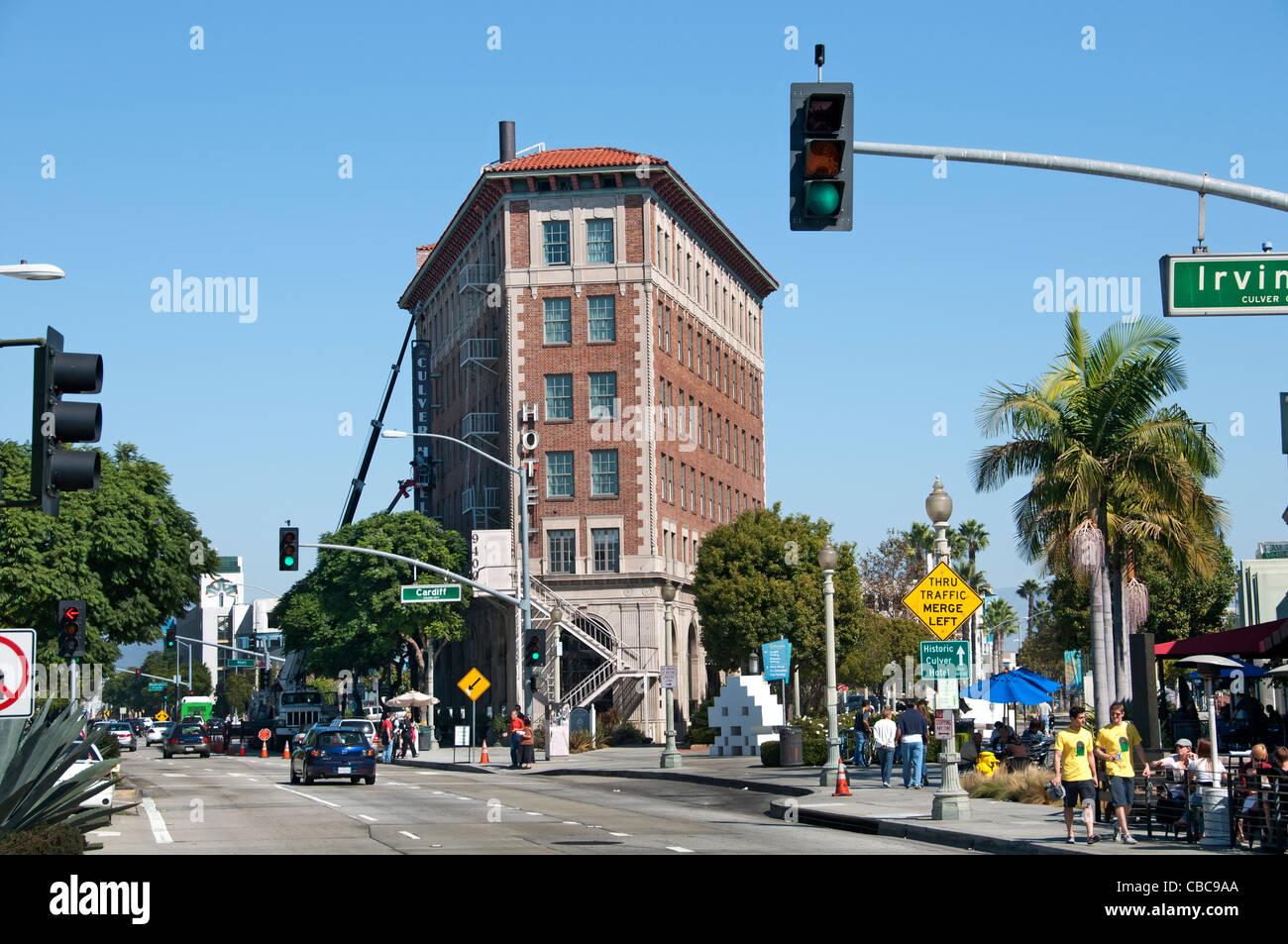culver city hotel flatiron building california united. Black Bedroom Furniture Sets. Home Design Ideas