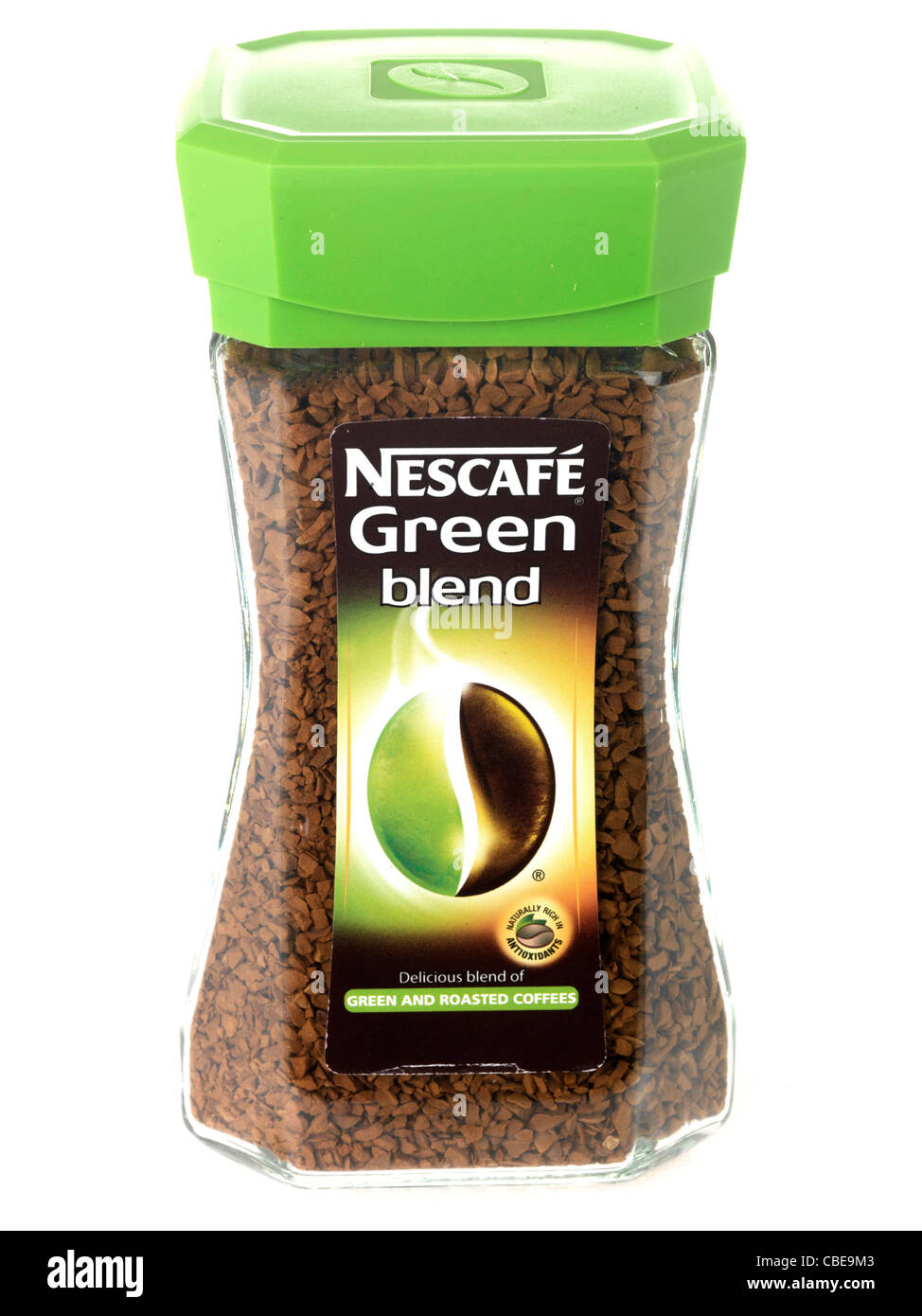 Nescafe Green Blend Coffee Stock Photo Royalty Free Image