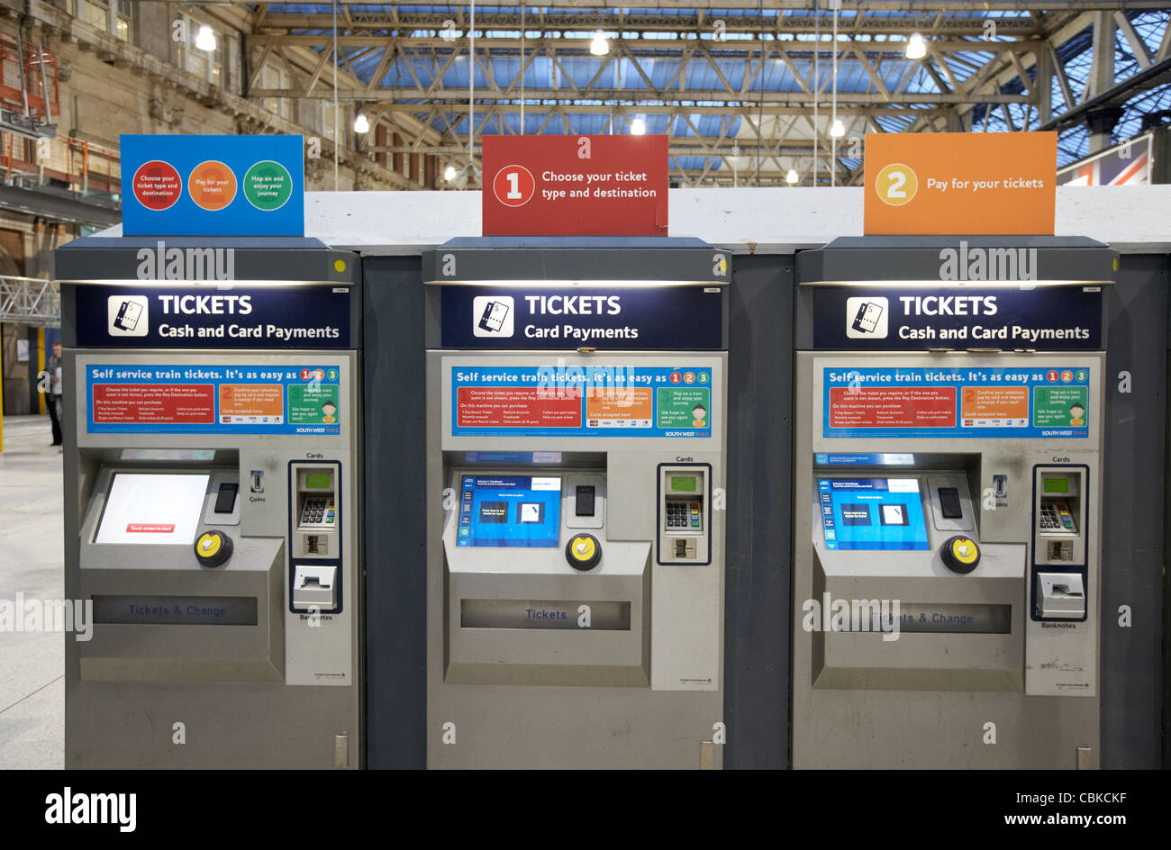 ticket reader machine