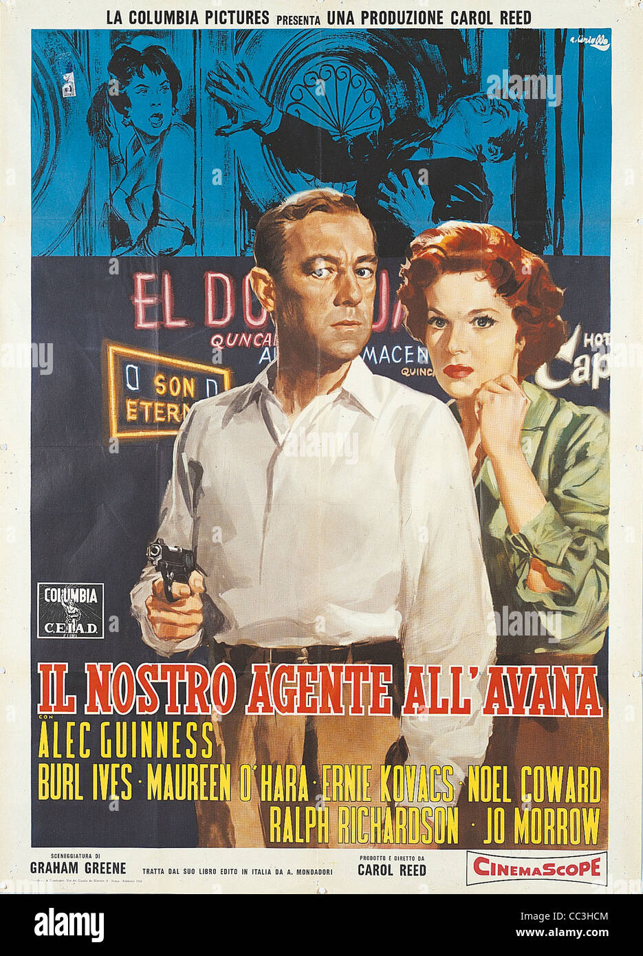 Film Posters: Our Man In Havana 1959 Director Carol Reed