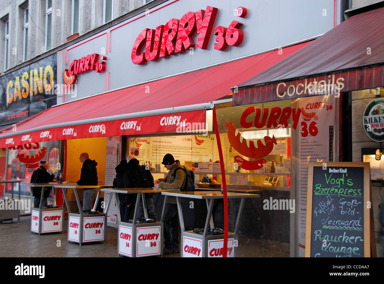 berlin germany curry 36 a popular imbiss in kreuzberg. Black Bedroom Furniture Sets. Home Design Ideas