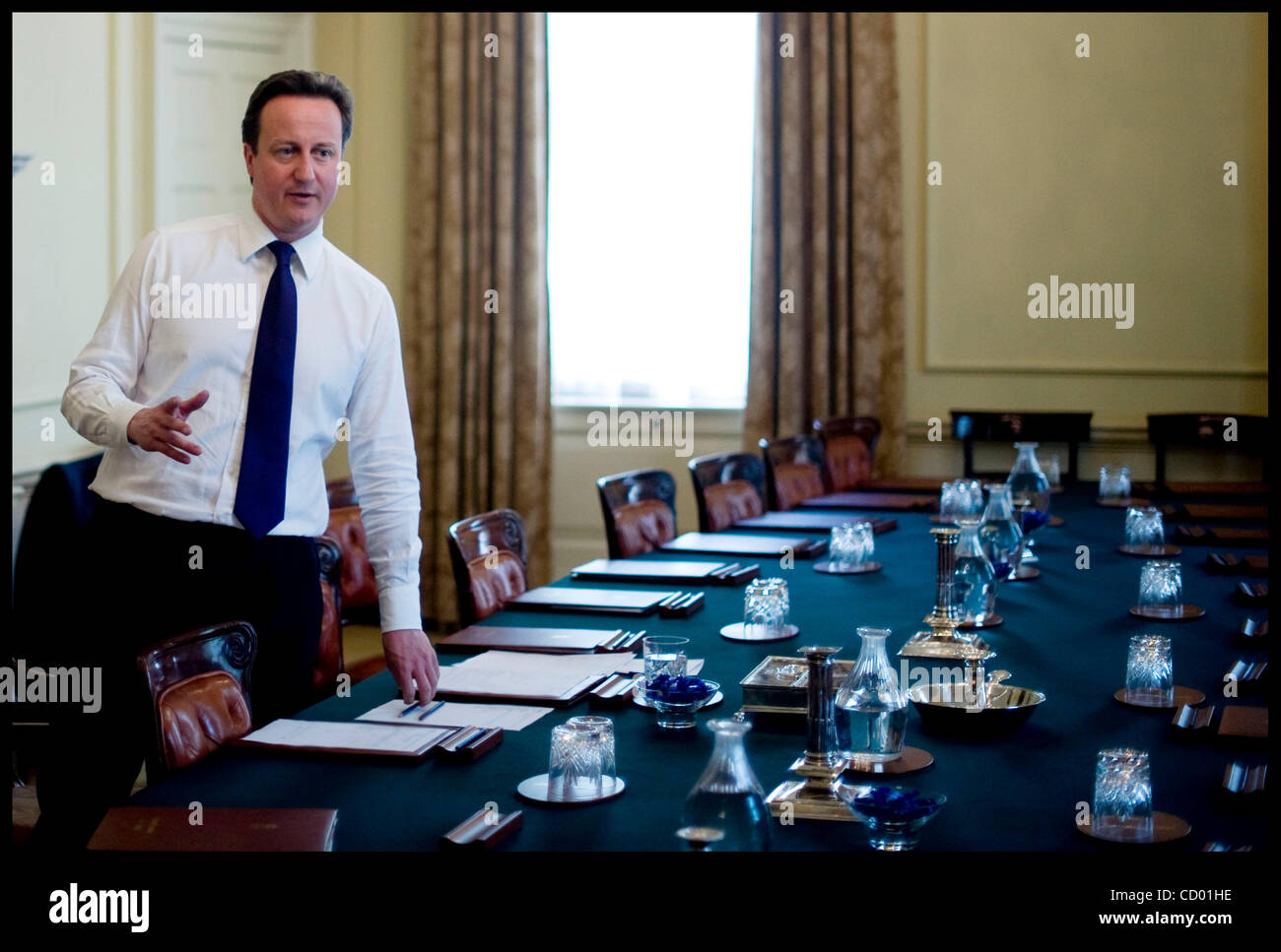 May 12 2010 london uk the prime minister david cameron working stock photo royalty free - Office of prime minister uk ...